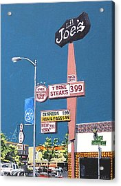 Li'l Joe's Acrylic Print by Paul Guyer