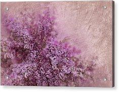 Lilac Splash Acrylic Print by Svetlana Sewell