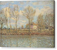 Ile De La Grande Jatte, Neuilly Sur Seine Acrylic Print