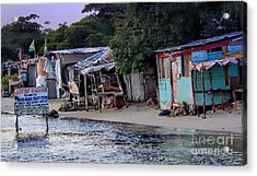 Liliput Craft Village And Bar Acrylic Print by Lilliana Mendez