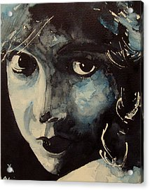 Lillian Gish  Acrylic Print by Paul Lovering