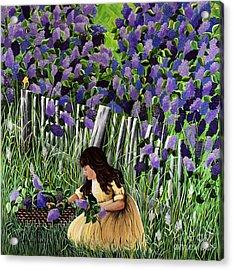 Lillian's Lilacs Acrylic Print