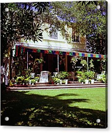 Lilly Pulitzer's Palm Beach Home Acrylic Print