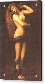 Lilth Acrylic Print by John Collier