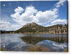 Lily Lake Relection Acrylic Print