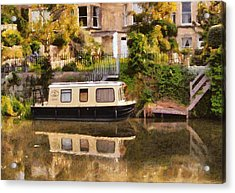 Lily Trotter Acrylic Print by Paul Gulliver