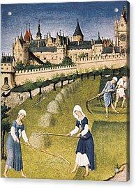 Limbourg, Jean Ca. 1370-1416 Limbourg Acrylic Print by Everett