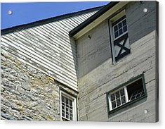 Lime Valley Mill Corner View Acrylic Print