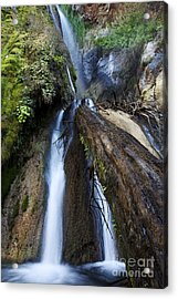 Limekiln Waterfall Acrylic Print by Jenna Szerlag