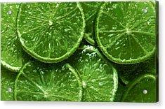 Limes Acrylic Print by David Blank