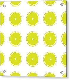 Acrylic Print featuring the digital art Limes by Jocelyn Friis