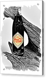 Limited Edition Coke - No.15 Acrylic Print by Joe Finney