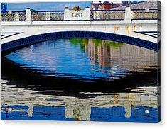 Sean Heuston Dublin Bridge Acrylic Print