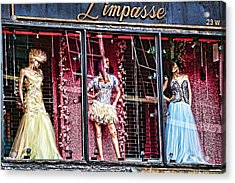 Limpasse Acrylic Print by Terry Cork