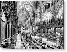Lincoln Cathedral The Choir I Acrylic Print