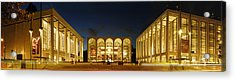 Acrylic Print featuring the photograph Lincoln Center At Night by Yue Wang