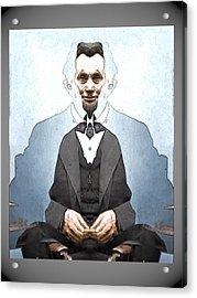 Lincoln Childlike Acrylic Print