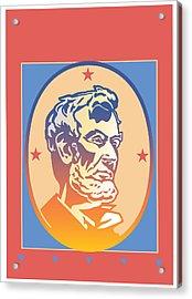Lincoln Acrylic Print by David Chestnutt