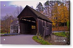 Lincoln Gap Covered Bridge.  Acrylic Print