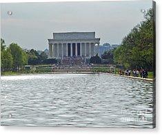 Lincoln Memorial 1 Acrylic Print