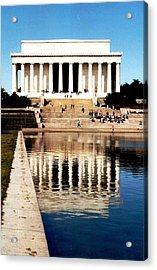 Lincoln Memorial Acrylic Print by Daniel Thompson