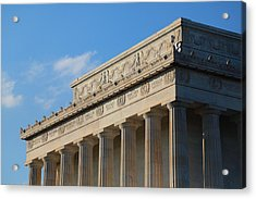 Lincoln Memorial - The Details Acrylic Print