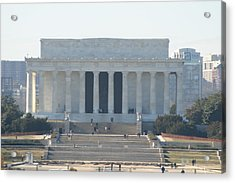 Lincoln Memorial - Washington Dc - 01131 Acrylic Print