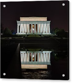 Lincoln Reflection Acrylic Print