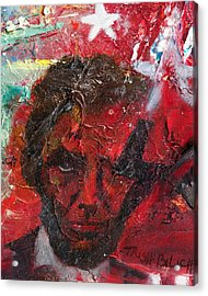 Lincoln Seeing Red Acrylic Print