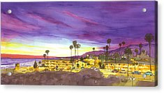 Linden At Sunset Acrylic Print