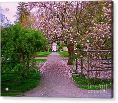 Linden Place Bristol Ri Acrylic Print by Tom Prendergast