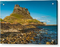 Lindisfarne Castle Acrylic Print by David Ross