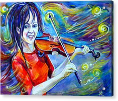 Lindsey Stirling Magic Acrylic Print