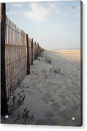 Acrylic Print featuring the digital art Line In The Sand by Kelvin Booker