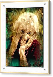 Line Of Life Experiences.. Acrylic Print by Sharon Burger
