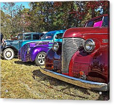 Lined Up Acrylic Print