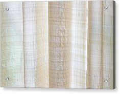 Linen Curtain Acrylic Print by Tom Gowanlock