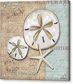 Linen Shell II Acrylic Print