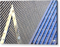 Lines And Parallelism Acrylic Print by Valentino Visentini