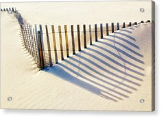Lines In The Sand Acrylic Print