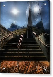 Acrylic Print featuring the photograph Lines N Textures by Robert McCubbin