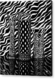 Lines Or Dots... Acrylic Print by Louis-philippe Provost