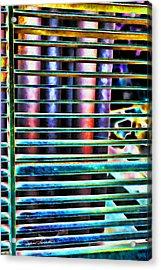 Lines Acrylic Print by Sylvia Thornton