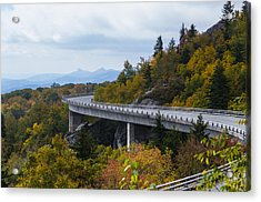 Acrylic Print featuring the photograph Linn Cove Viaduct by Gregg Southard