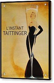 L'instant Taittinger Acrylic Print