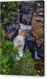 Linville Falls Acrylic Print