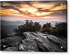 Linville Gorge Sunrise Acrylic Print