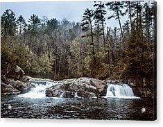 Linville Upper Falls Acrylic Print
