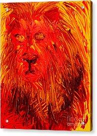 Lion Of The Tribe Of Judah Acrylic Print