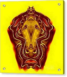 Lion Tall Acrylic Print